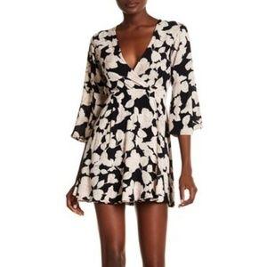 Billabong Divine Floral Dress, Black (XS)